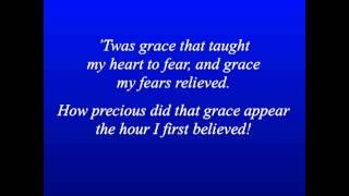 Amazing Grace - Piano and Lyrics HD 1080p
