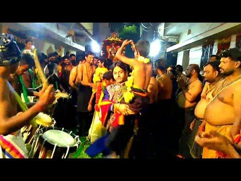 Kanne Swamy Ni Yetukoni Adina RakeshBonamAnna  Ayyappa Swamy 18va PadiPooja at Amberpet prem Nagar