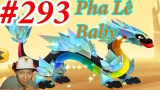 Rồng Pha Lê Baby Dragon City HNT chơi game Nông Trại Rồng vui HNT Channel New 293