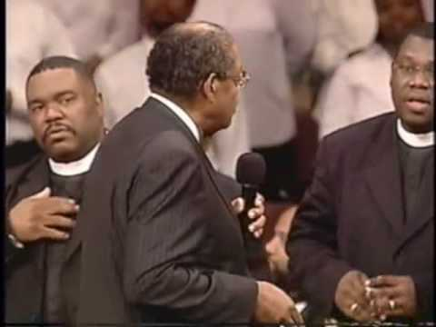Bishop GE Patterson (Part 3) (Laying Hands and Praying) Luke Chap. 4 ~ The Spirit of Praise was too high for him to preach this one.
