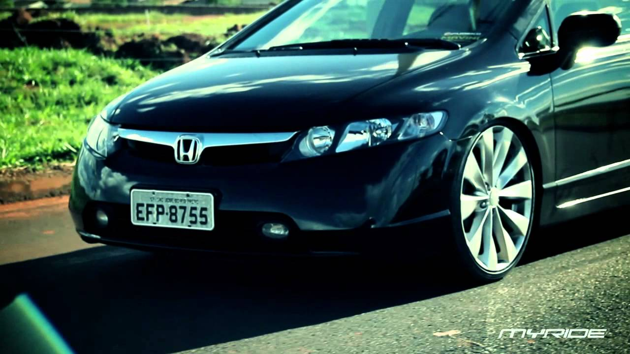 Myride New Civic Com Rodas Aro 20 E Suspens 227 O Fixa Youtube