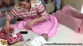 Reborn baby girl Sailor Daisy box packing - The SMN Show #323