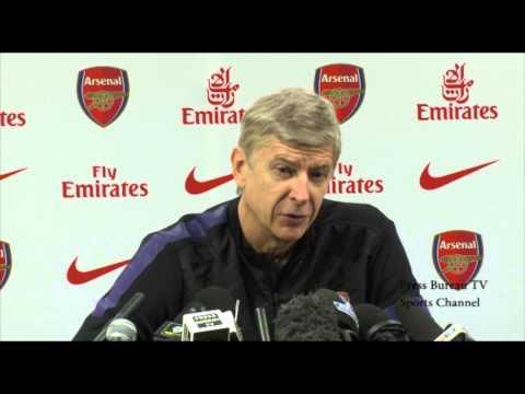 Arsenal vs Tottenham - Arsene Wenger french press conference