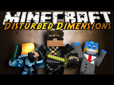 Minecraft Mini-Game : DISTURBED DIMENSIONS!