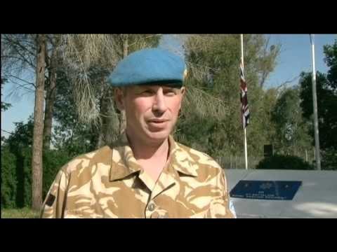 Tributes to soldier with zest for life and passion for peacekeeping mission in Cyprus 06.05.11
