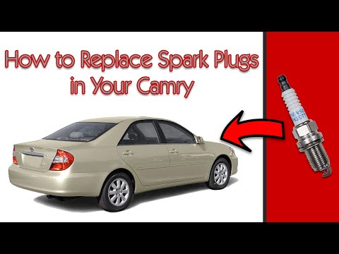 2005 Toyota Camry V6: How to Replace the Spark Plugs (and Air Filter)