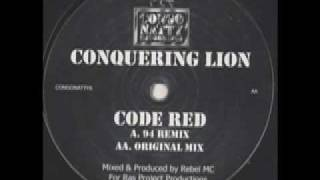 Conquering Lion- Code Red (94 remix)