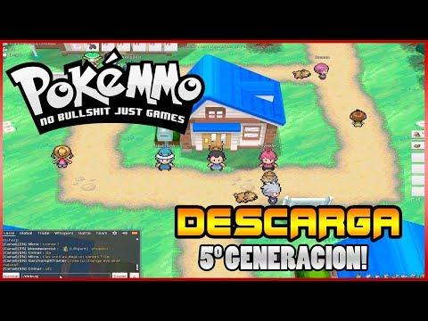 Guia Como jugar descargar PokeMMO + Actualización Negro en Español - Pokemon Online -  2018