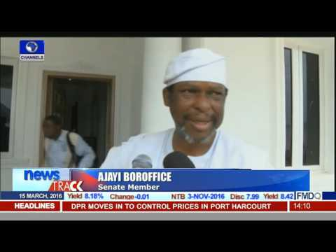 NASS Will Support President Buhari In Corruption Fight-- Boroffice