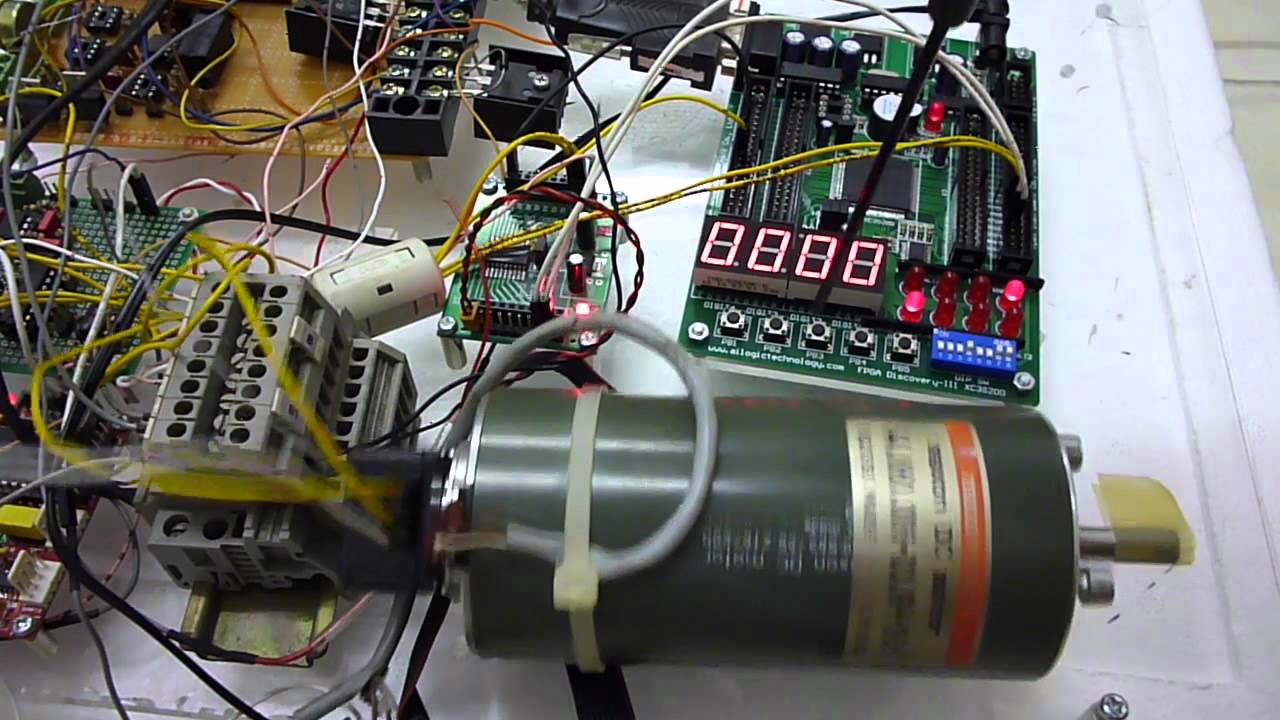 Pwm Control For Maxon Dc Servo Motor Youtube