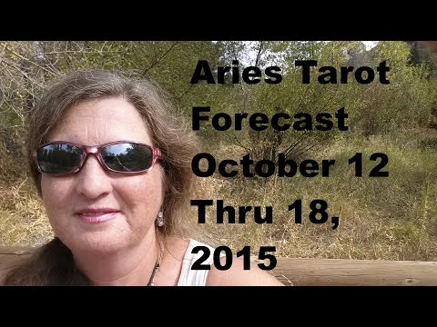 Aries Tarot Forecast October 12 Thru 18, 2015