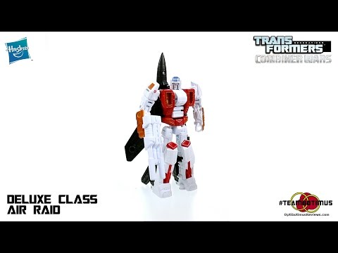 Video Review Of The Transformers Combiner Wars: Deluxe Class Air Raid video