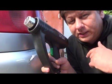 Как вытянуть вмятину на бампере