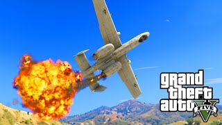 GTA 5 PC Mods - NEW WARTHOG JET VS. X-WING STAR WARS MOD! GTA 5 Jet Mods Funny Moments!