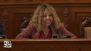 WATCH: Rep. Lucy McBath's full questioning of legal experts | Trump impeachment hearings