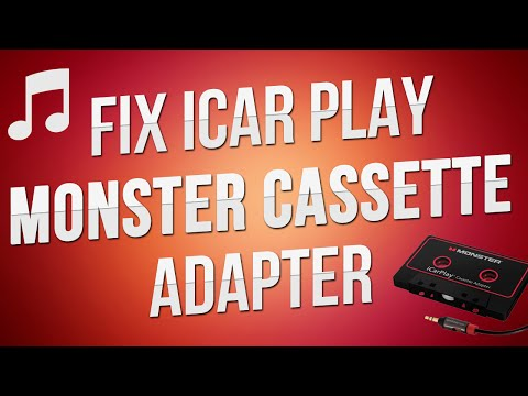 Constantly Ejecting   How to Fix Cassette Adapter   Monster iCar Play