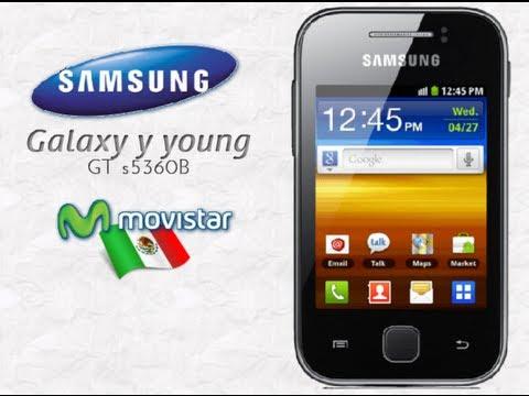 samsung Galaxy y configuración de Internet movistar México