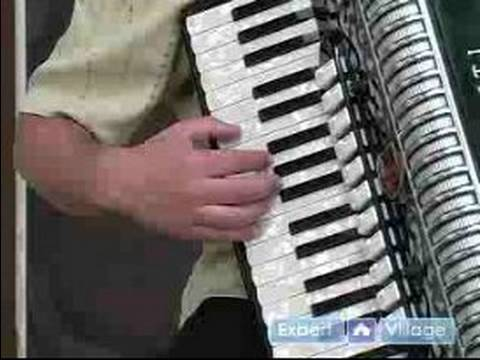 How to Play the Accordion : How to Play the Melody of 