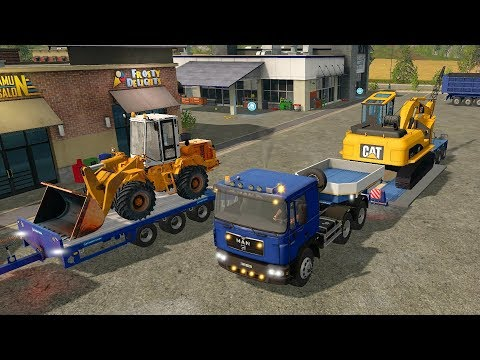 FS17 - Mining and Construction Economy  Map 001