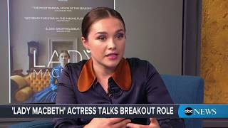 'Lady Macbeth' star Florence Pugh Interview on new film