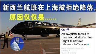 政论:新西兰航班被上海拒绝降落,原因仅仅是这个!(2/12)