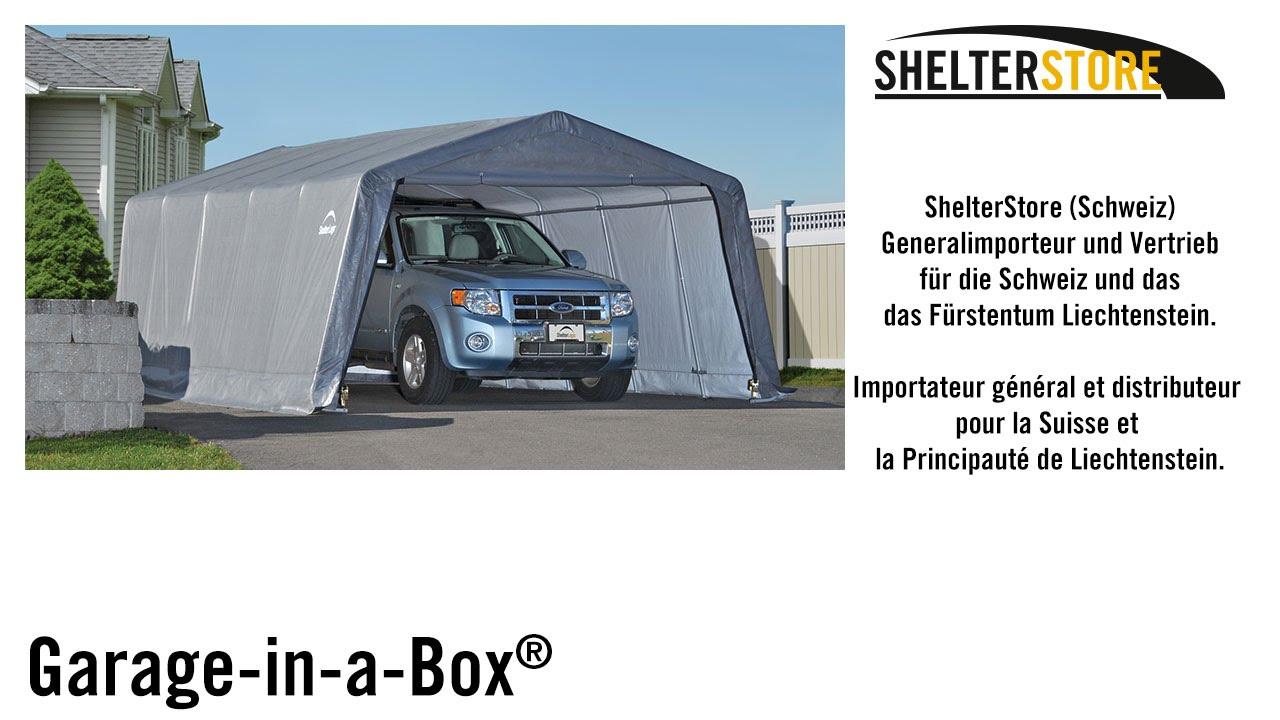 shelterlogic garage in a box manual