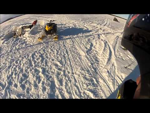 The End Of Snowmobile Season 2013 Movie