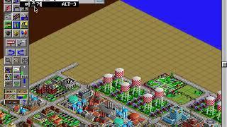 [옹이의 고전게임] 심시티2000 플레이영상1, Simcity 2000 Play Video1 [Ong's Old Game]
