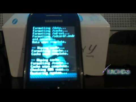 Instalar ROM Oficial (Samsung) al Galaxy Young con CWM