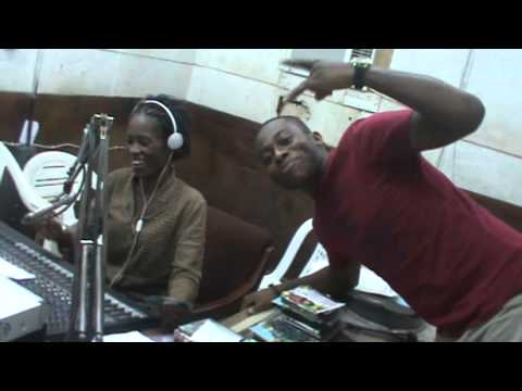 WATCH AND LISTEN TO MYNZ INTERVIEW AT BENIN RADIO STATION (EBS)