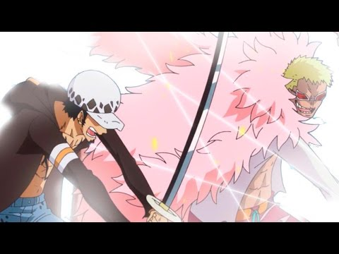 One Piece 768: Law Vs Doflamingo ワンピース Review video