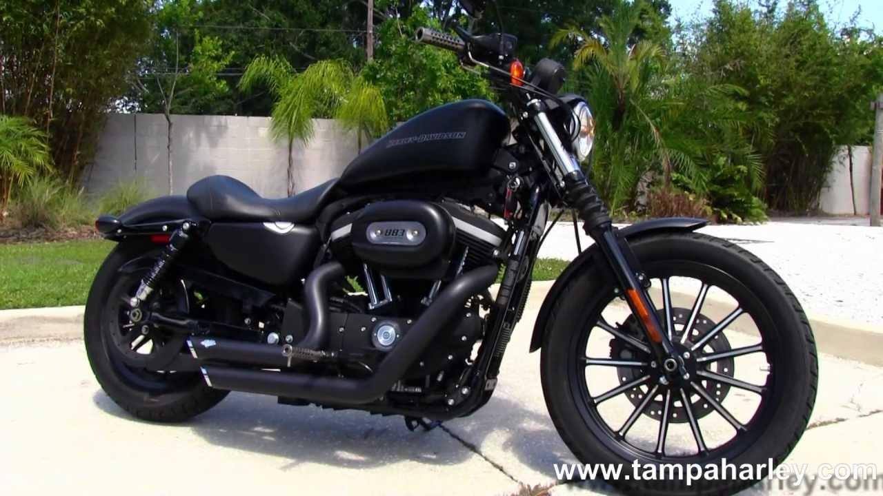 Harley Davidson Sportster For Sale: Used 2010 Harley Davidson XL883N Sportster Iron 883 For