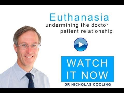 Interview with Dr Nicholas Cooling on Euthanasia and Assisted Suicide