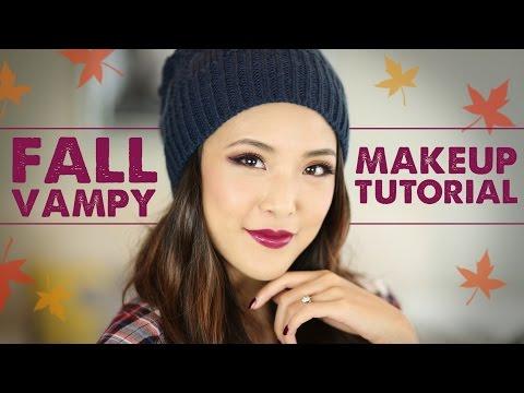 TUTORIAL: Fall Vampy Makeup