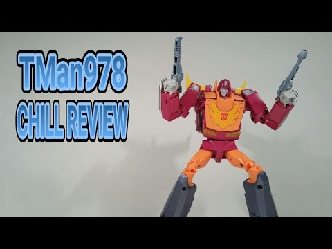 Transfomers Masterpiece MP-28 Hot Rodimus (Hot Rod) CHILL REVIEW