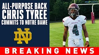 Four-star running back Chris Tyree latest commit in Notre Dame's 2020 class | 247Sports