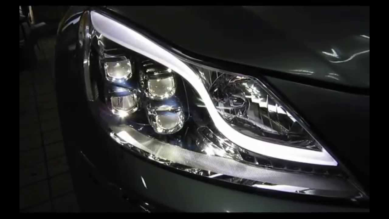 Genesis Led Headlight Afls Auto Leveling Youtube