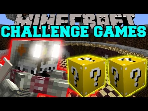 Minecraft: King Bowser Challenge Games - Lucky Block Mod - Modded Mini-game video