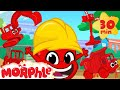 Morphle Loves Building - My Magic Pet Morphle videos for kids and babies