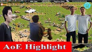 AoE Highlight || Trận Thi Đấu Cầm Hit Chủ Lực Mẫu Mực Của Sếp BiBi