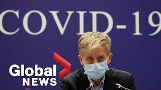 Coronavirus outbreak: WHO provides update on latest developments   LIVE