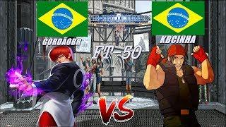 YZKof - Kof 2002 - GORDÃOBR (Brazil) vs KBCINHA (Brazil) FT-50 Parte 1