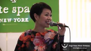 Joanna Dong performs 我愛恰恰 - Wo Ai Cha Cha at Raffles City Chinese New Year Performances
