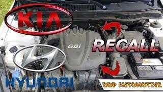 2011-2014 Kia And Hyundai Theta Engine Recall