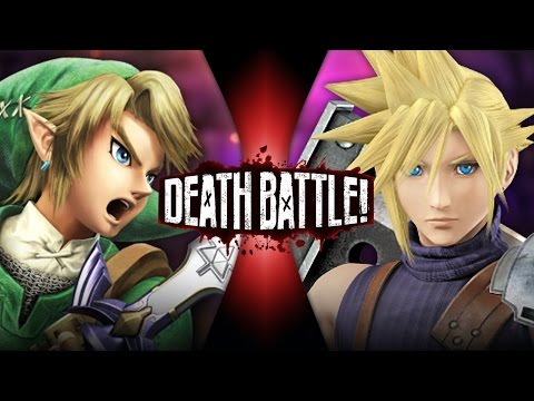 DEATH BATTLE! - Link VS Cloud