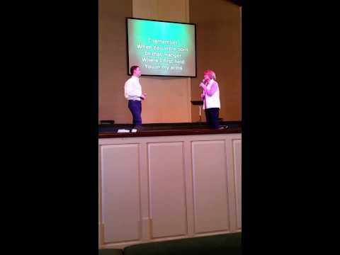 Scotty McCreery & Judy McCreery Easter Sunday