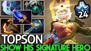 TOPSON [Monkey King] Show His Signature Hero Master MK Mid 7.22 Dota 2