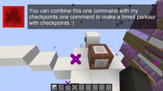 Timer | Minecraft Map Making Tools #02