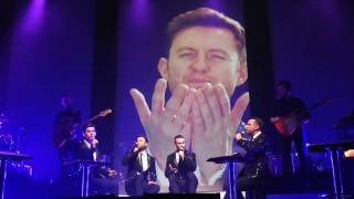"""The Overtones - """"Thank You For Being A Friend"""" with Timmy - Southampton - 05-12-16 - RIP Timmy"""