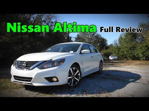 2017 Nissan Altima: Full Review | 2.5 S, 2.5 SR, 2.5 SV, 2.5 SL, 3.5 SR & 3.5 SL